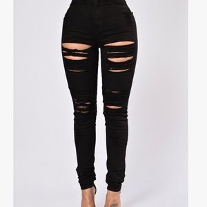 Roll Out Jeans- Black